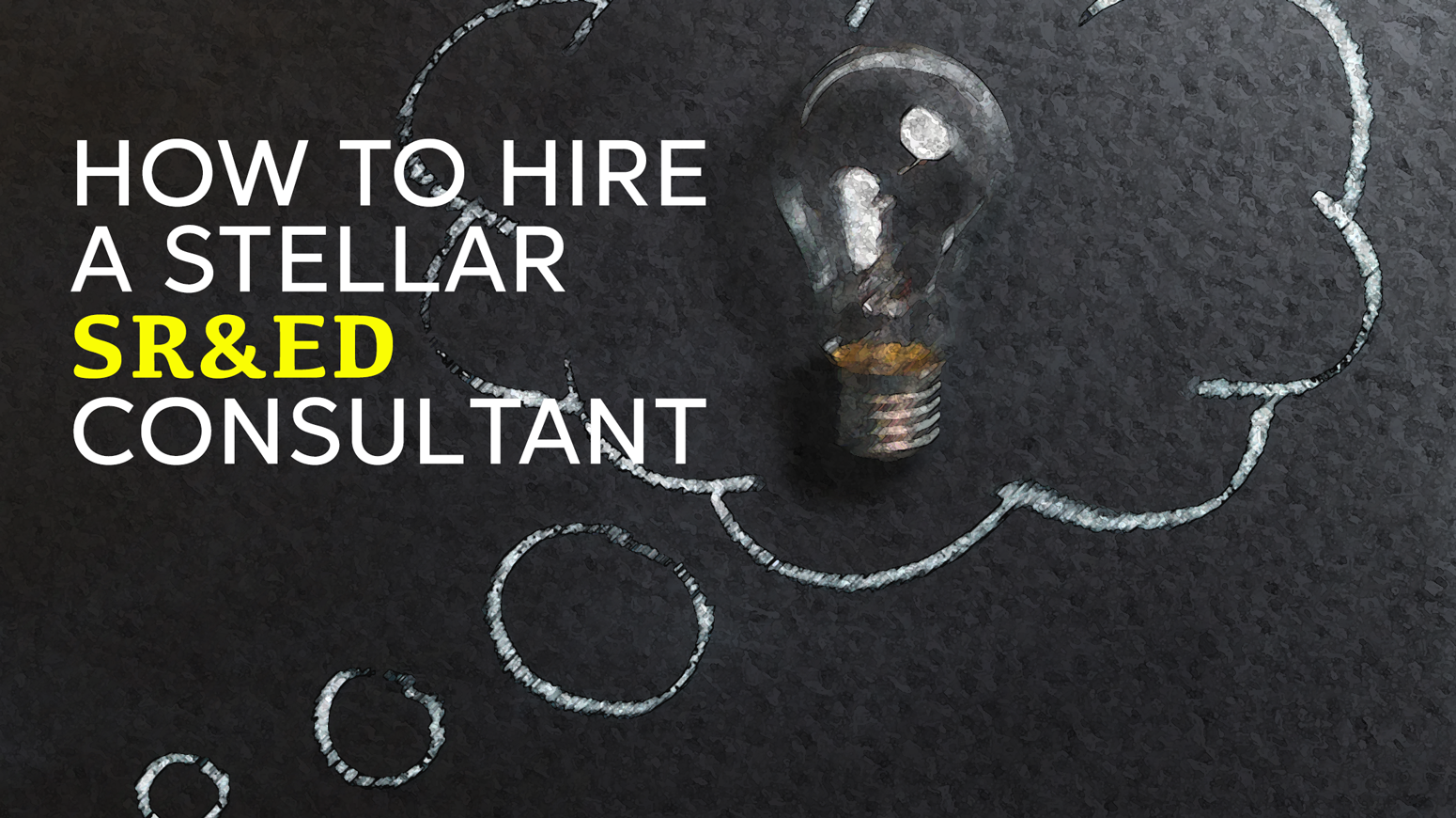 How to hire an SR&ED Consultant